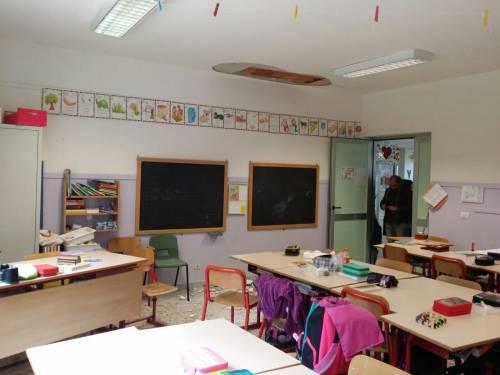 Torino, crollo a scuola 2