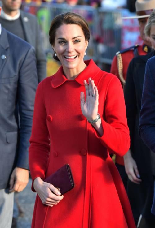 Kate Middleton, gli abiti indossati in Canada 12