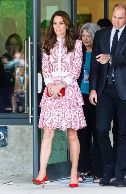 Kate Middleton, gli abiti indossati in Canada 17