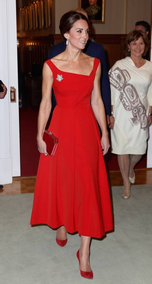 Kate Middleton, gli abiti indossati in Canada 24