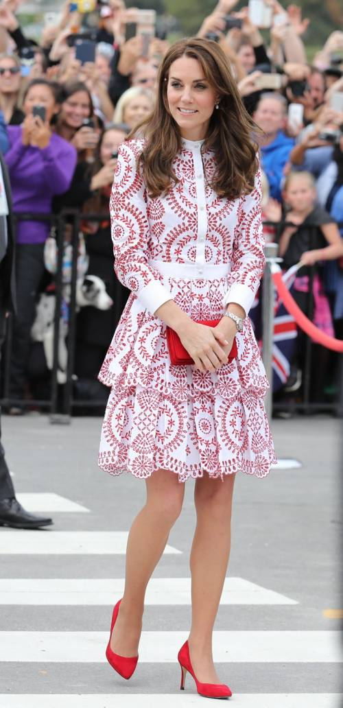 Kate Middleton, gli abiti indossati in Canada 25