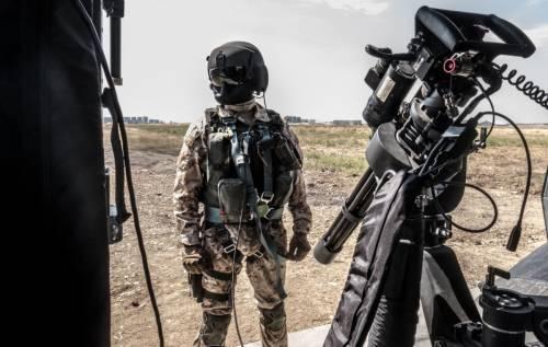 Con i soldati italiani che affrontano l'Isis