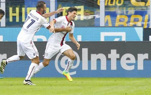 Cagliari, la bella storia Melchiorri: dalla malattia al gol all'Inter