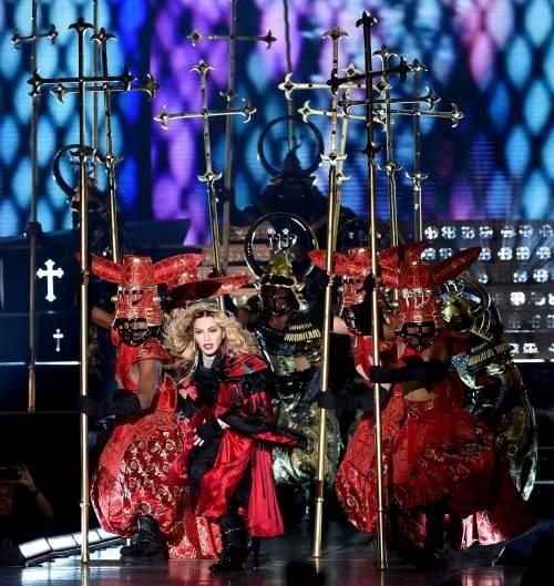 Madonna, i look sexy ieri e oggi 13