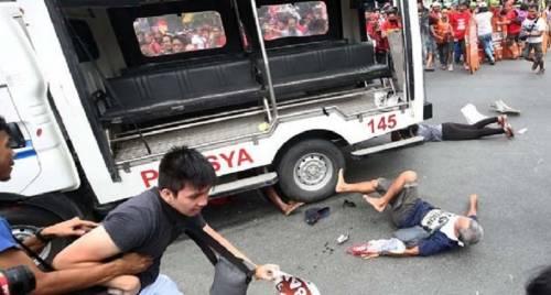 Filippine, scontri e feriti durante una manifestazione anti-Usa
