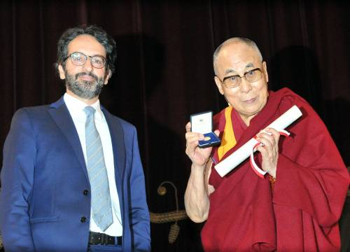 Cittadinanza onoraria Milano al Dalai Lama