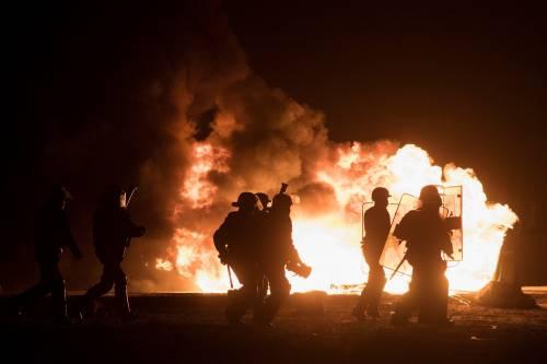 """A Calais scoppia la rivolta nella """"giungla"""" 12"""