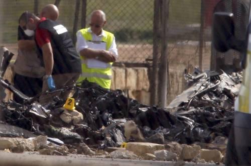 Malta, aereo di sorveglianza doganale francese si schianta nell'aeroporto La Valletta 7