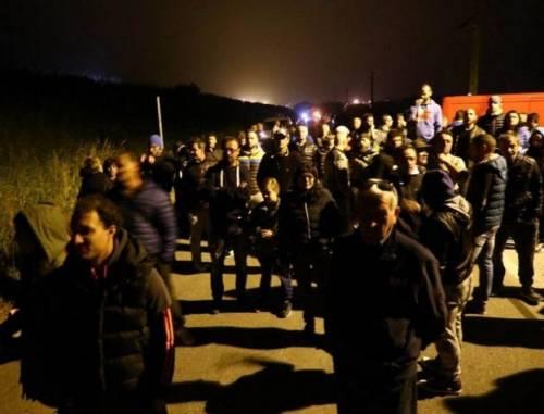 Ferrara, cittadini in strada contro i profughi 2