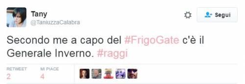 "Raggi: ""Troppi frigoriferi per strada"". E su Twitter è subito #frigogate 12"