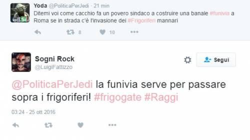 "Raggi: ""Troppi frigoriferi per strada"". E su Twitter è subito #frigogate 16"
