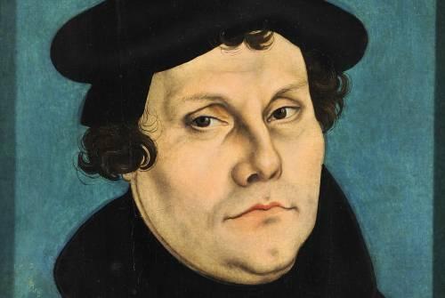 Ritratto di Martin Lutero di Lucas Cranach