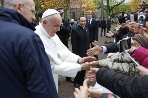 Il Papa in Svezia con la regina Silvia e re Carl Gustaf 7