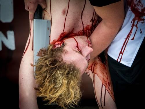 La macellazione umana in piazza a Londra 30