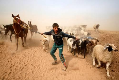 Così i civili scappano  dalla Mosul assediata 3
