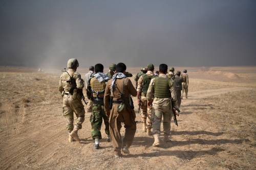 Gli iracheni avanzano a Mosul: 6 distretti ricatturati dall'Isis