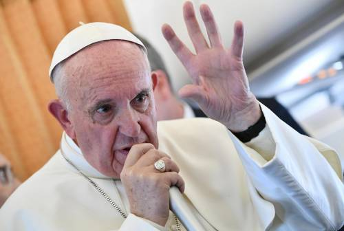 """Papa Francesco: """"Donald Trump? Non lo giudico"""""""