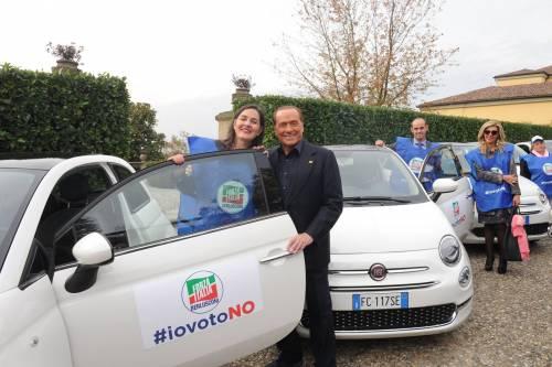 Referendum, Berlusconi rilancia il No e dà il via alla Missione Italia