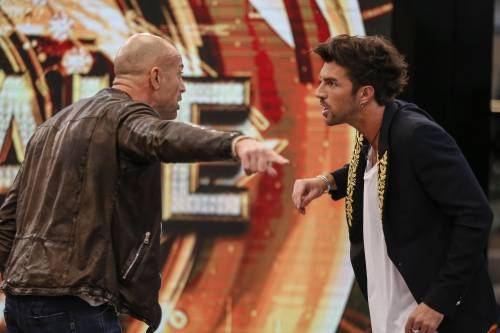 Gf Vip, duro scontro tra Andrea Damante e Stefano Bettarini