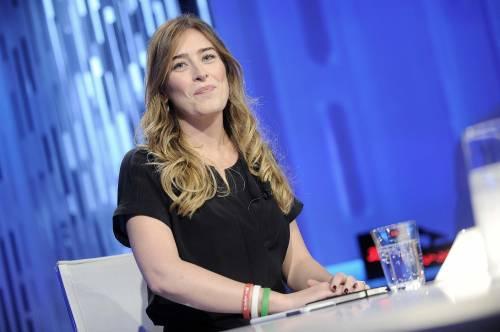 Maria Elena in picchiata sull'orlo di una crisi di nervi tra gaffe e scenate in tv