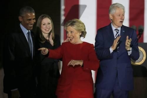 """Prima il bagno di folla e poi il voto con Bill: """"Farò del mio meglio"""""""