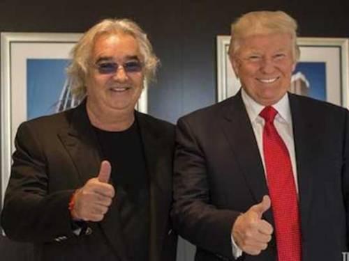 """Briatore festeggia Trump """"I guru non capiscono un c..."""" - IlGiornale.it"""
