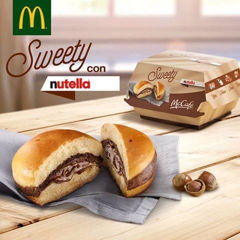 """McDonald's lancia """"Sweety con Nutella"""": l'annuncio fa impazzire tutti"""