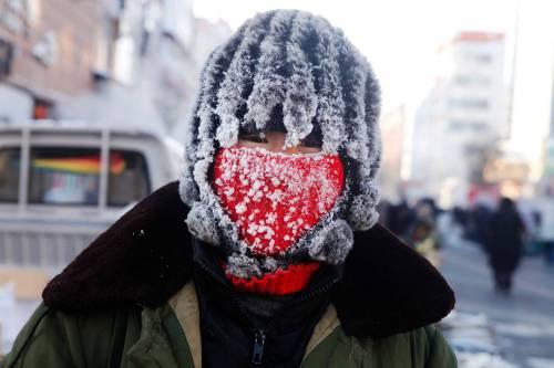 Questa città cinese è così fredda che lavorare è eroico