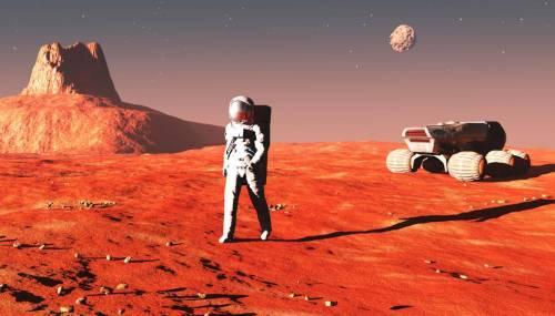 Un viaggio su Marte che sembra vero (e western)