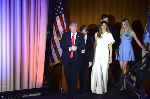 Milly D'Abbraccio e Donald Trump, immagini 1