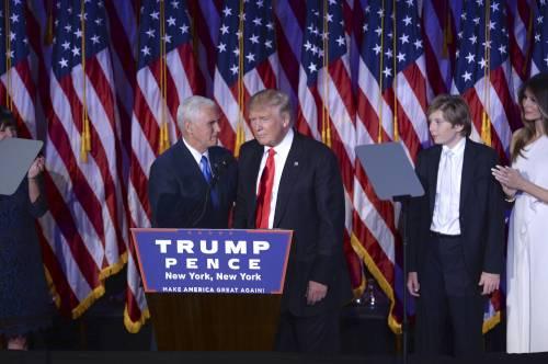 Milly D'Abbraccio e Donald Trump, immagini 3