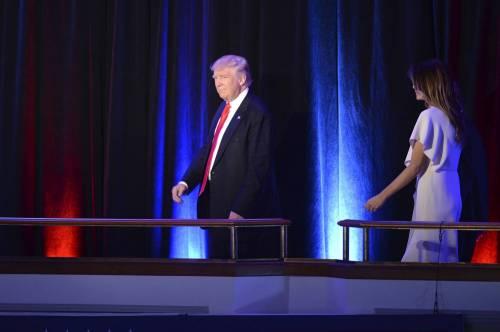 Milly D'Abbraccio e Donald Trump, immagini 6