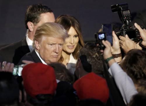 Milly D'Abbraccio e Donald Trump, immagini 8