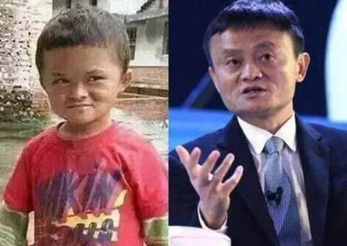 """Il fondatore di Alibaba """"adotta"""" il sosia di 8 anni"""