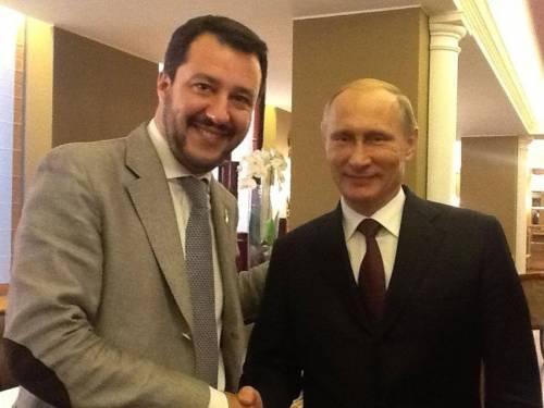Salvini in missione a Mosca: la mossa per spingere il No