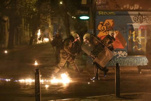 Scontri ad Atene per l'arrivo di Obama in Grecia 9