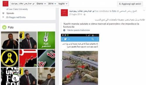 Gli islamisti che inneggiano Hamas in Italia 2