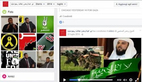 Gli islamisti che inneggiano Hamas in Italia 5