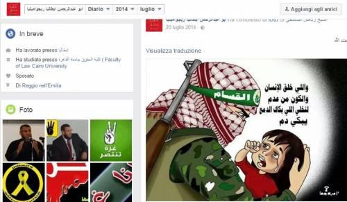 Gli islamisti che inneggiano Hamas in Italia