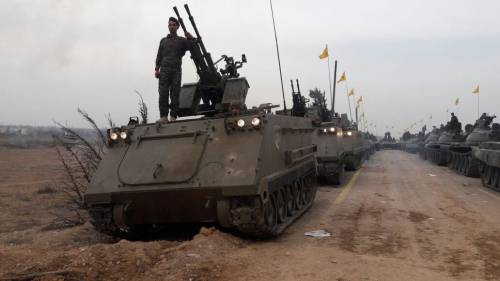 Siria, Hezbollah in guerra con i blindati Usa