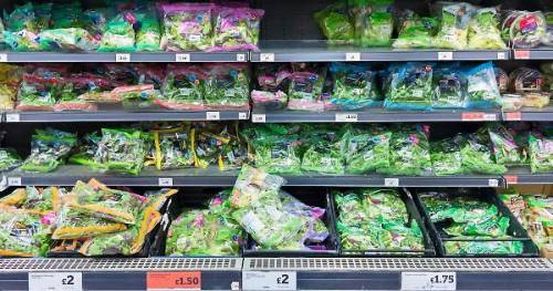 Scatta l'allarme salmonella nelle buste di insalata già confezionate