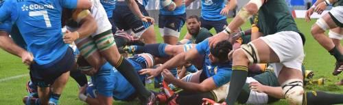 Rugby, storica prima volta: l'Italia batte il Sudafrica