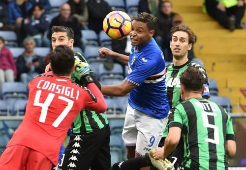 Harakiri Sassuolo: grande rimonta della Sampdoria dallo 0-2 al 3-2