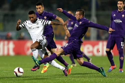 Europa League, la Fiorentina cade col Paok