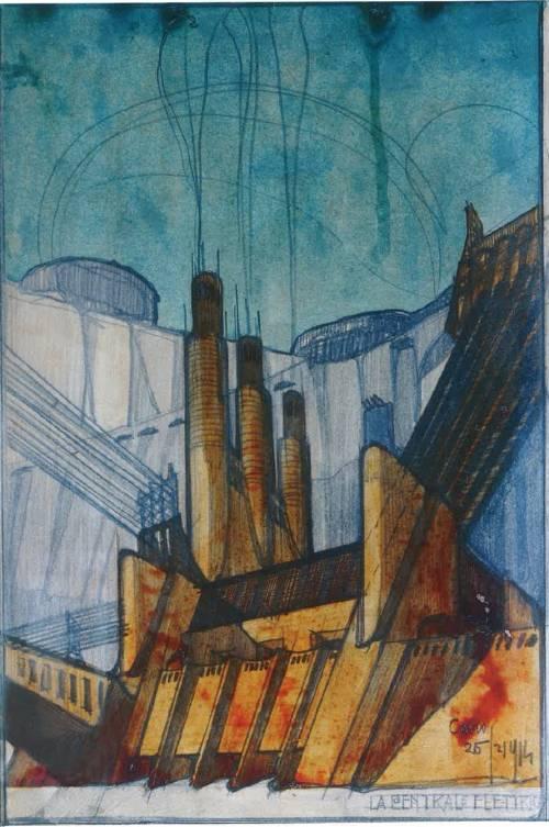 """Sant'Elia prima di Le Corbusier e """"Metropolis"""""""
