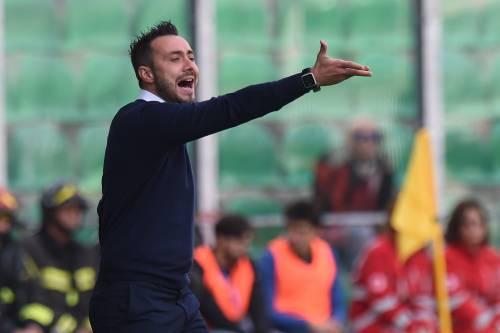 """Benevento, accoglienza di fuoco per De Zerbi: """"Sei uno zingaro"""""""