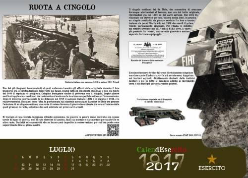 Le immagini del Calendesercito 2017 per commemorare la Grande Guerra 10