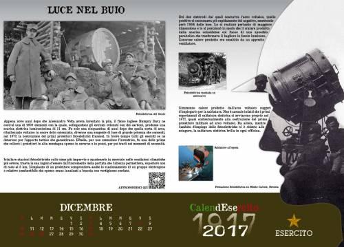 Le immagini del Calendesercito 2017 per commemorare la Grande Guerra 15