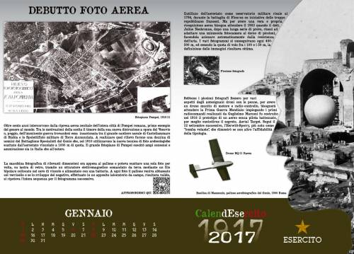 Le immagini del Calendesercito 2017 per commemorare la Grande Guerra 3