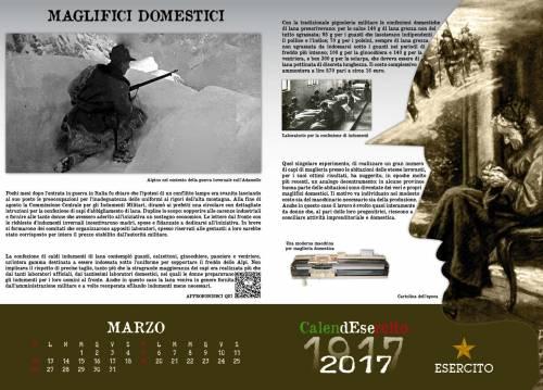 Le immagini del Calendesercito 2017 per commemorare la Grande Guerra 5